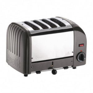 Grille-Pain 4 Tranches Anthracite Vario Dualit Dualit - 1