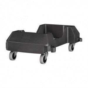 Chariot Encliquetable Slim Jim Rubbermaid - 1