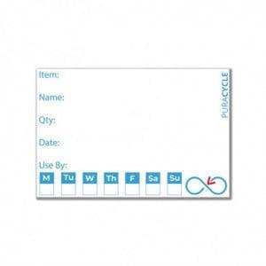 Etiquettes De Traçabilité Réutilisables - Lot De 50 FourniResto - 1