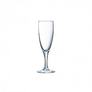 Flûtes À Champagne Elegance - 100Ml - Lot De 12 Arcoroc - 1
