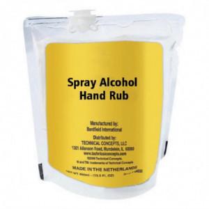 Lotion Spray Nettoyante Avec 60% D'Alcool 400Ml - Lot De 12 Rubbermaid - 1