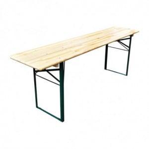 Table Pliante En Épicéa 220 X 50Cm FourniResto - 1