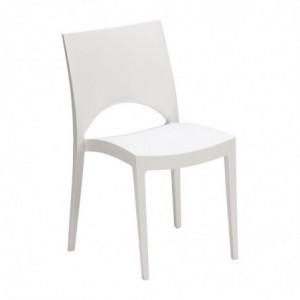 Chaise Empilable D'Extérieur / Intérieur - Blanche FourniResto - 1