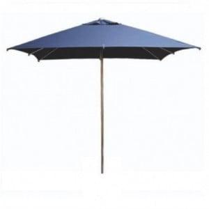 Parasol Carré Bleu Milan Eden - 2,5M FourniResto - 1