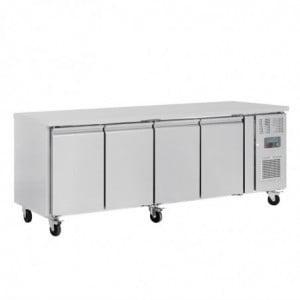 Table Réfrigérée Positive 4 Portes Série U - 449L Polar - 1