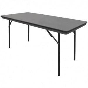 Table Rectangulaire Pliante Grise En Abs - 1520Mm Bolero - 1