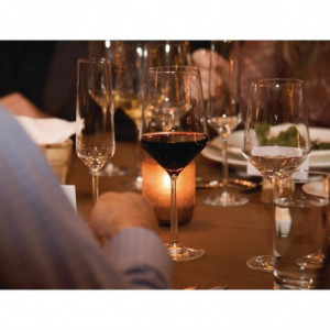 Flûtes À Champagne En Cristal 215Ml - Lot De 6 FourniResto - 1