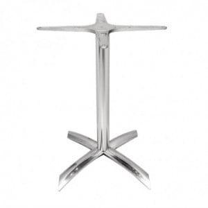 Pied De Table À Plateau Basculant Aluminium Bolero - 1