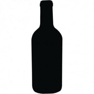 Ardoise Bouteille De Vin Securit - 1