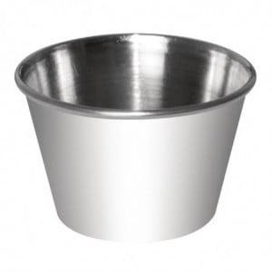 Pots À Sauce En Inox - 70Ml - Lot de 12 Olympia - 1