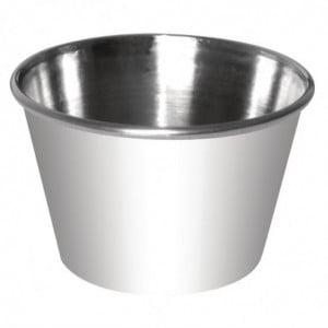 Pots À Sauce En Inox - 115Ml - Lot de 12 Olympia - 1
