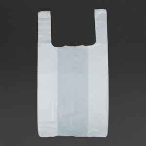 Sacs En Plastique Blanc - Lot De 1000 FourniResto - 1