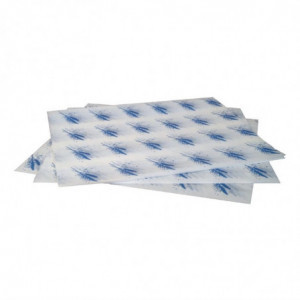 Emballages Burgers Bleus - Lot De 1000 FourniResto - 1