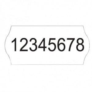 Etiquettes Unies Pour Étiqueteuse - Lot De 15000 FourniResto - 1