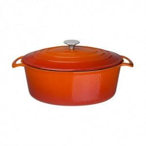 Grande Cocotte Ovale Orange 6L Vogue - 1