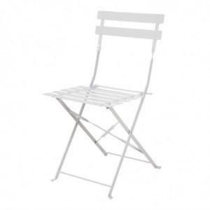 Chaise De Terrasse En Acier - Gris - Lot De 2 Bolero - 1