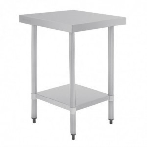 Table Inox 600 X 700Mm Vogue - 1
