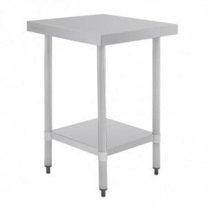 Table Inox 900 X 700Mm Vogue - 1