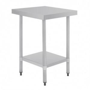 Table Inox 1200 X 700Mm Vogue - 1