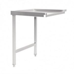 Table De Sortie Gauche Pour Lave-Vaisselle À Capot 600Mm Vogue - 1