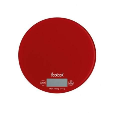Balance Electronique Ronde - Verre Portée 5 Kg Tellier - 1