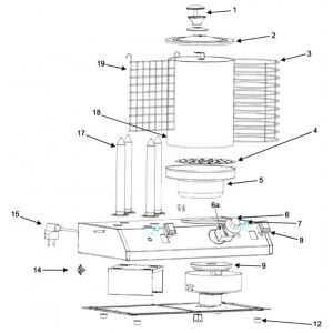 Cylindre Hot Dog Bartscher - 2