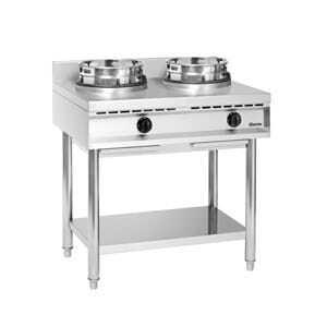 Cuisinière Wok à Gaz - 2 Brûleurs Bartscher - 2