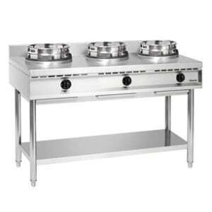 Cuisinière Wok à Gaz - 3 Brûleurs Bartscher - 2