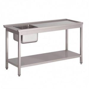 Table De Prélavage Gauche Pour Lave-Vaisselle À Capot Gl896 Gastro M - 1