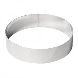 Cercle À Mousse Inox 240 X 60Mm De Buyer - 1