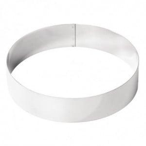 Cercle À Mousse Inox 200 X 45Mm De Buyer - 1