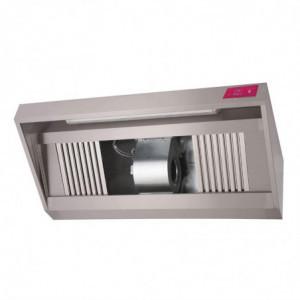 Hotte Inox Complète - 1000 x 900 x450 mm Gastro M - 1