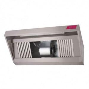Hotte Inox Complète 1500 X 900 X 450Mm Gastro M - 1