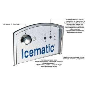 Machine à Glaçons E25 - 25 Kg Icematic  - 2