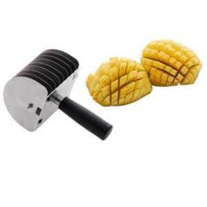 Coupe Mangue en Damiers  Tellier - 1