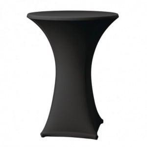 Housse De Table Samba Noire FourniResto - 1