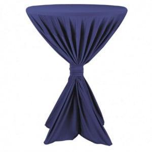 Housse De Table Fiësta Bleu Foncé FourniResto - 1