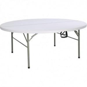 Table Ronde Pliable Bolero - 1