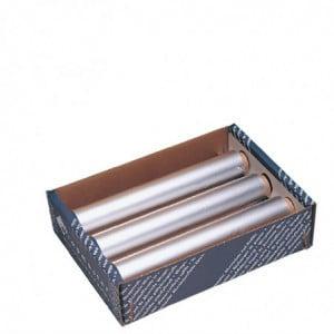 Papier Aluminium 90M X 450Mm - Lot De 3 Wrapmaster - 1