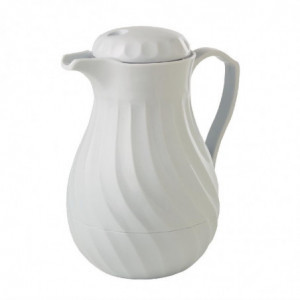 Cafetière Isotherme Blanche 1,1L FourniResto - 1