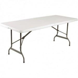 Table Pliable Au Centre Blanche 1829Mm Bolero - 1