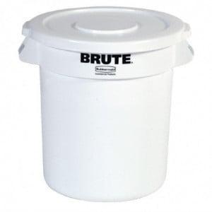 Collecteur Brute Blanc 37,9L Rubbermaid - 1