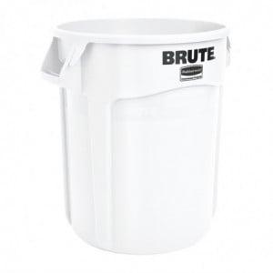 Collecteur Brute Blanc 76L Rubbermaid - 1