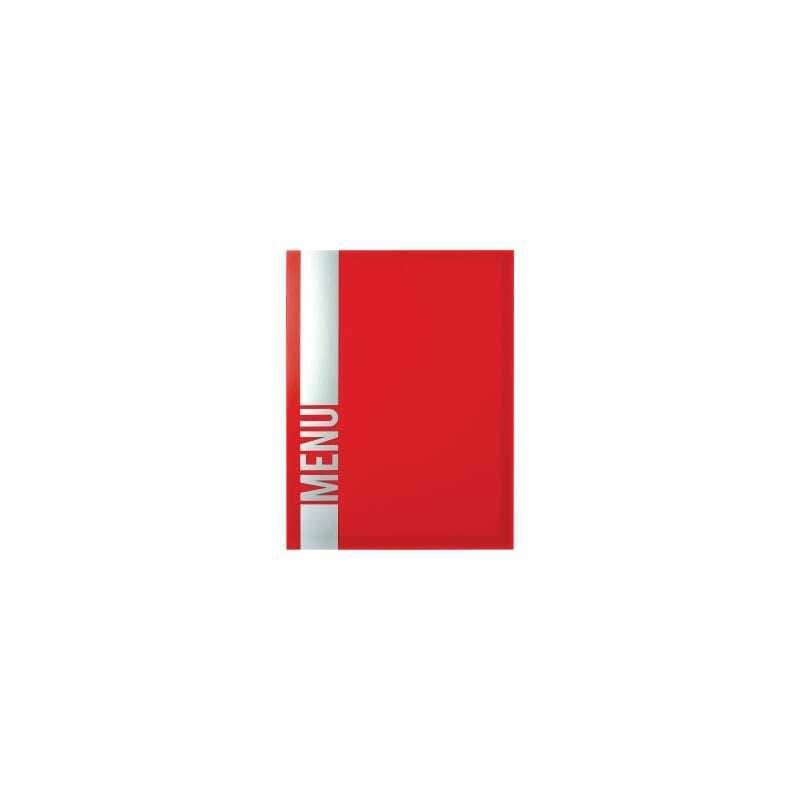Protège-Menu Tendance - Rouge