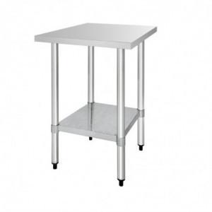 Table De Préparation Inox 900 X 600Mm Vogue - 1