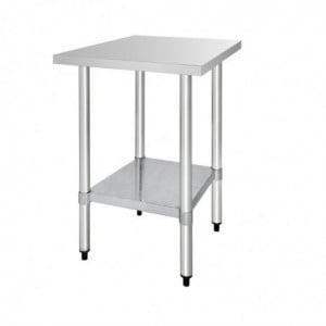 Table De Préparation Inox 1800 X 600Mm Vogue - 1