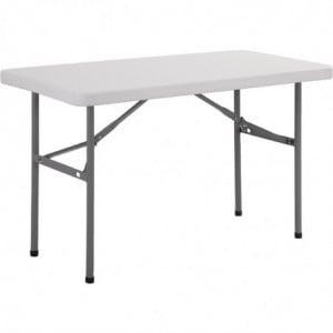 Table Rectangulaire Pliante - 1220Mm Bolero - 1
