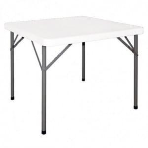 Table Carrée Pliante 86Cm Bolero - 1