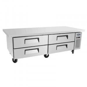 Table Réfrigérée Positive - 4 Tiroirs 2 x GN 1/1 - 340 L - L 1930 mm FourniResto - 1