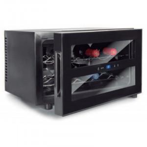 Refroidisseur à Vin BLACK LINE - 8 Bouteilles - 23 L Lacor - 1